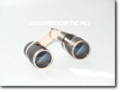 Бинокль театральный ROW Carl Zeiss Jena 2.5x25 Visastar Gold